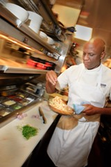 CHRIS DUFFEY - Eddie Blyden is a world-class chef and Slow-Food enthusiast who helms Henry's at Hotel Durant.