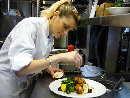 Elisheva Isaac, the new chef de cuisine at Sauls