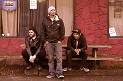 Emilio Nevarez (center) and the Lucky Eejits. - VIA FACEBOOK / LUCKY EEJITS