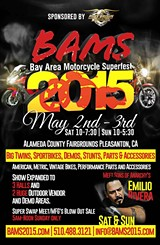 BAY AREA MOTORCYCLE SUPERFEST - Emilio Rivera from Sons of Anarchy comes to BAMS 2015