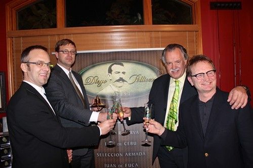 Execs from would-be marijuana business Diego Pellicer