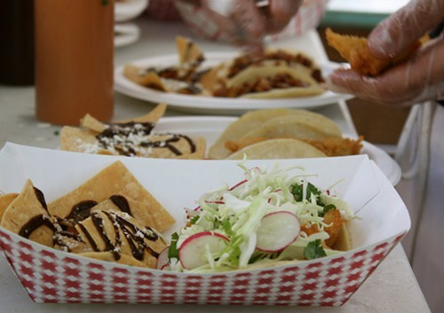 Fish tacos from Cholita Linda might be one of the items featured on the Taste of Temescal food tour (via Facebook).