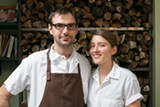 BERT JOHNSON - Fred Sassen and his wife Elizabeth Sassen are the co-owners and chefs at Homestead, an Oakland farm-table restaurant that plans to eliminate tipping.