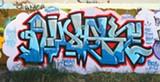 Graffiti in Oakland.