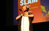 Grand Slam champ Imani Diltz likes how slam poetry provides young people safe spaces to speak their truths.