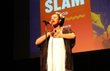 BETHANIE HINES - Grand Slam champ Imani Diltz likes how slam poetry provides young people safe spaces to speak their truths.