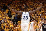 COURTESY OF GOLDEN STATE WARRIORS - Green has come to define Oakland perhaps more than any other athlete.