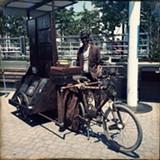 DAVID BROWN - Gregorio de Masi and his Bicycle Gallery.
