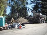 ERIC KIEFER - Halted construction in Piedmont Hills.