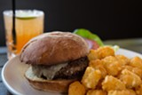 BERT JOHNSON - Handlebar's rich and savory burger and tater tots.