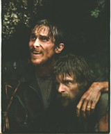Having a Lao-Sy day: Christian Bale and Steve Zahn in Rescue Dawn.