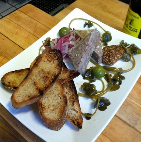 Headcheese at Mockingbird (via Facebook).