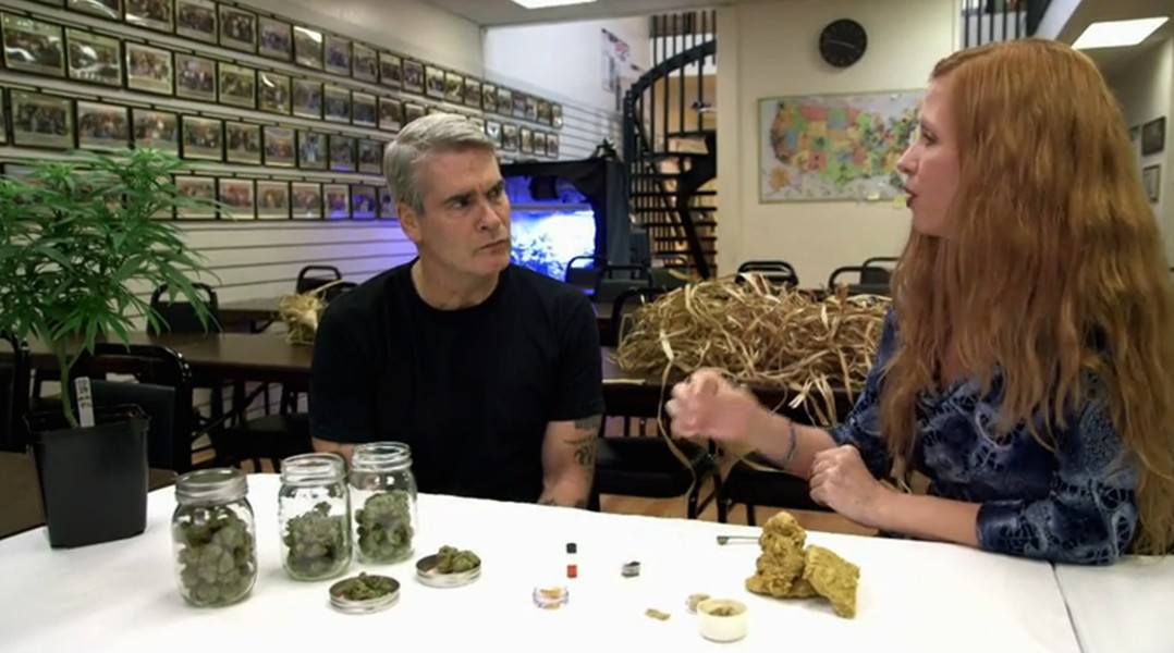 Henry Rollins studies cannabis' etymology in Oakland for '10 Things You Didn't Know About' - HISTORY CHANNEL