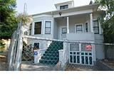 CHRIS DUFFEY - Hultman's former house has become a neighborhood - blight.