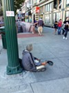 If Measure S passes, homeless people like Cody will no longer be able to sit on the sidewalk.