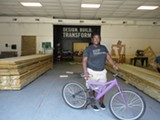 If You Build It shows how design changes the lives of students such as Jamesha Thompson, who built this bike.