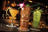 CHRIS DUFFEY - It's all about the drinks at Forbidden Island.