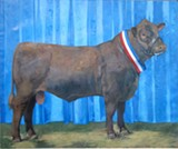 "Jane Fisher's ""Championship Bull."""