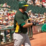 WIKIMEDIA COMMONS - Jason Giambi admitted to taking steroids while he played for the A's.