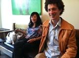 MATT GONZALEZ. - Jazz bassist Caroline Chung (left) with pianist Michael Parsons.