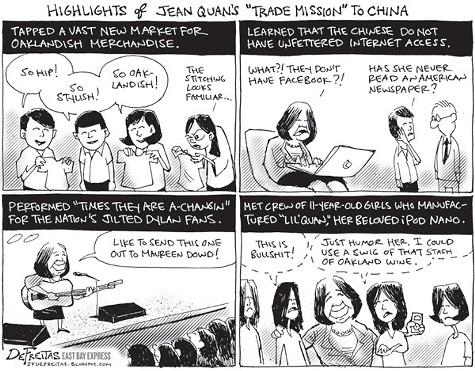 Jean Quan, Live in China!