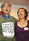 Jean Quan's husband Floyd Huen and daughter Lailan Huen.