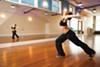 Jenny Lucero Riviera (Yeni) teaches dance at Flying Yoga Shala.