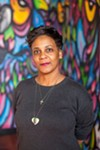 """Jeralynn Blueford, whose son was killed by Oakland police in 2012, said she calls herself a """"'momtivist,' because I feel like what I'm doing is what any mom would do."""""""