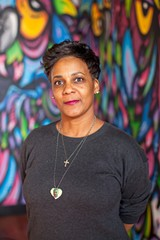 """BERT JOHNSON - Jeralynn Blueford, whose son was killed by Oakland police in 2012, said she calls herself a """"'momtivist,' because I feel like what I'm doing is what any mom would do."""""""