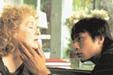 Joanna Silver (Meryl Streep) tries to help foreign students (like Liu Xing, played by Liu Ye) adjust to US life.