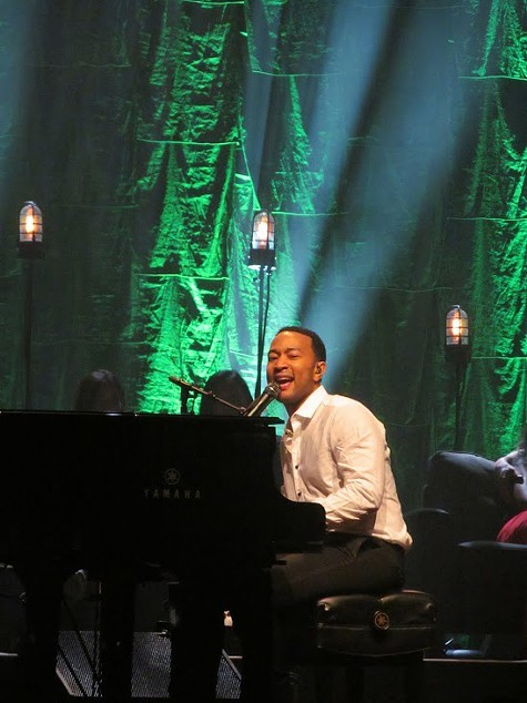 John Legend at Zellerbach.
