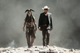 Johnny Depp and Armie Hammer star in Disney's new, hopelessly corny Lone Ranger reboot.