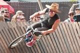 JON LOHNE - Joshua Thwaites rides the Whiskey Drome.