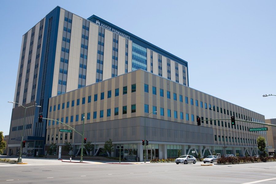 Kaiser Oakland. - BERT JOHNSON / FILE PHOTO