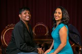 BERT JOHNSON - Karinda Dobbins (L) and Dhaya Lakshminarayanan want to shake up the comedy status quo.
