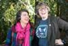 Kate Rhoades and Maysoun Wazwaz of <i>Congratulations Pine Tree.</i>