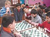 Kids play at 2008's Bishops Qualifier.