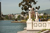 Lake Merritt is a popular place for Oaklanders to exercise, picnic, and hang out.