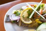 Lam Toro's grilled fish.