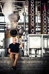 STEPHEN LOEWINSOHN - Lance Winters, master distiller at St. George and vice-president of the California Artisanal Distillers Guild, says artisan distilleries in other states have grown at a per capita rate seven times that of California's.