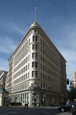 The Lionel J, Wilson Building.