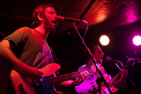 Local rock trio Scraper is reliably raucous. - BERT JOHNSON