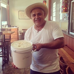 Luis Abundis of Nieves Cinco de Mayo. - JAY PORTER