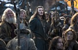 Luke Evans plays Bard in the fantasy adventure The Hobbit: The Battle of the Five Armies.