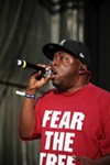 Malik Taylor, aka Phife Dawg, performing at this year's Rock the Bells.