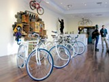 PLINIO HERNANDEZ - Manifesto Bicycles' new showroom.