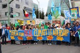 DAN BACHER - Many Bay Area union members participated in the February 7 climate march in Oakland.