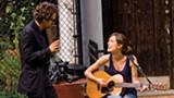 Mark Ruffalo and Keira Knightley in Begin Again.