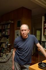 BERT JOHNSON - Mark Sherman in his North Oakland apartment.