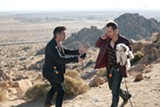 Marty (Colin Farrell) and Billy (Sam Rockwell) kidnap pets for ransom in Seven Psycopaths.